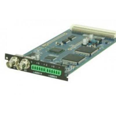 C101AS Карта двухканального MPEG-2/SD энкодера с аналоговыми входами Secam