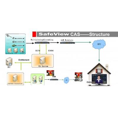 CAS SafeView система условного доступа